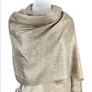 Gorgeous pashmina shawl scarf cover up.
